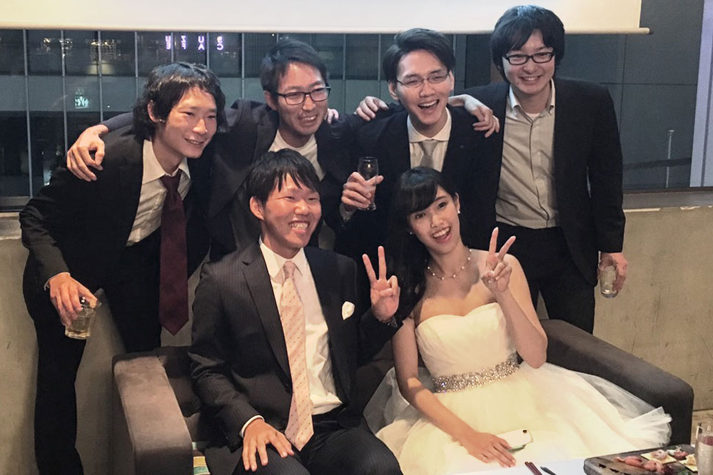 広島在住のおふたりの、東京の友人とのお披露目パーティー