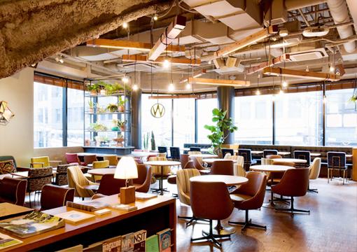 WIRED CAFE 梅田 chayamachi