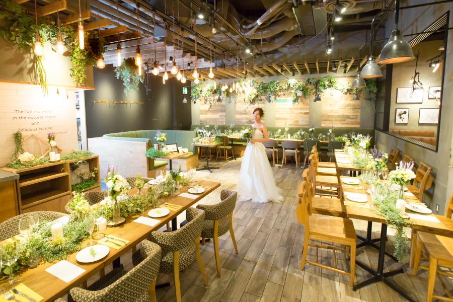 SENBA KITCHEN GREEN HOUSE Grill&Wine ハービスプラザ店