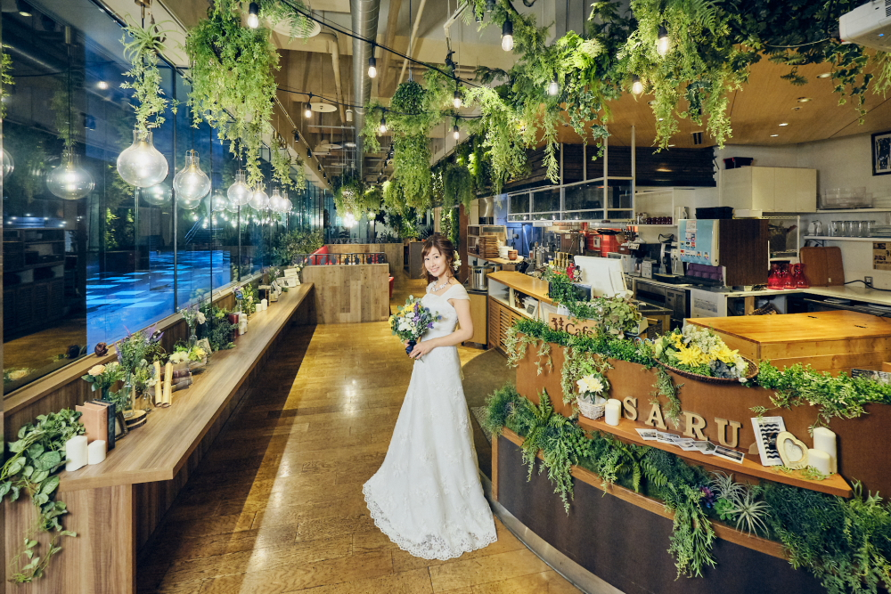 Botanical Garden SARU CAFE 名古屋ルーセント店