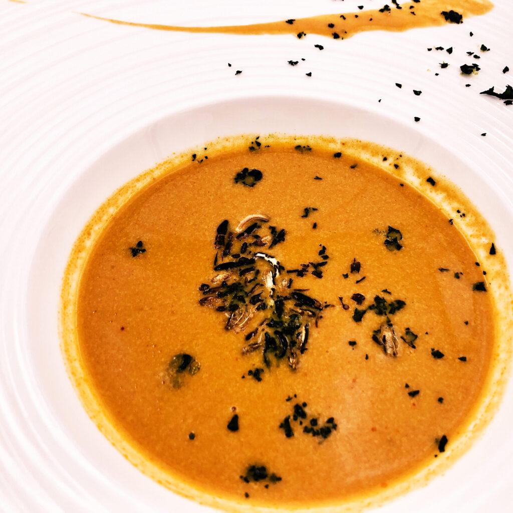 結婚式料理スープ
