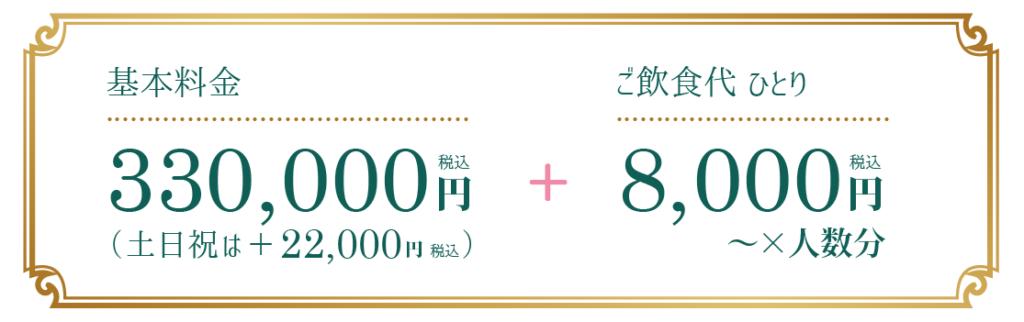 結婚式プラン料金③