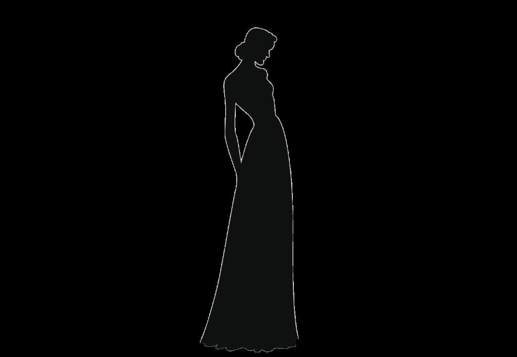 ウェディングドレス、エンパイアライン