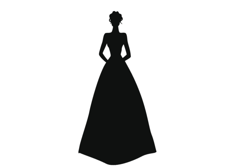 ウェディングドレス、Aライン