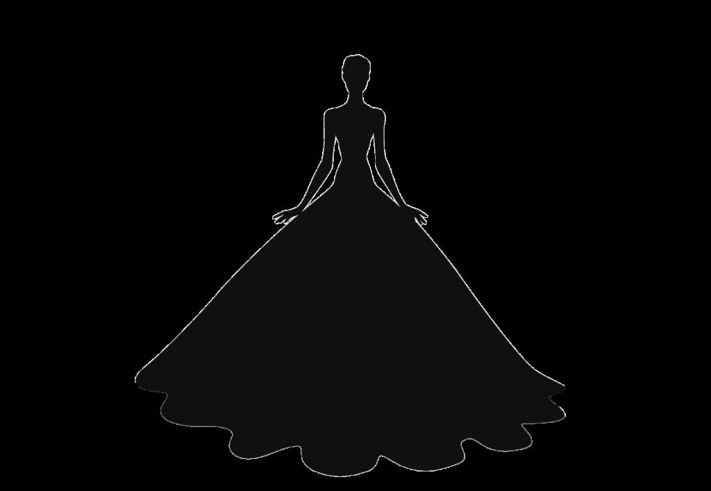 ウェディングドレス、プリンセスライン