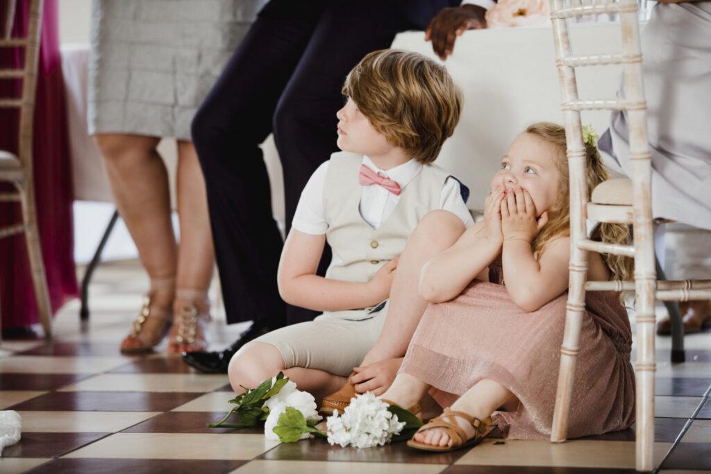 結婚式参列子供