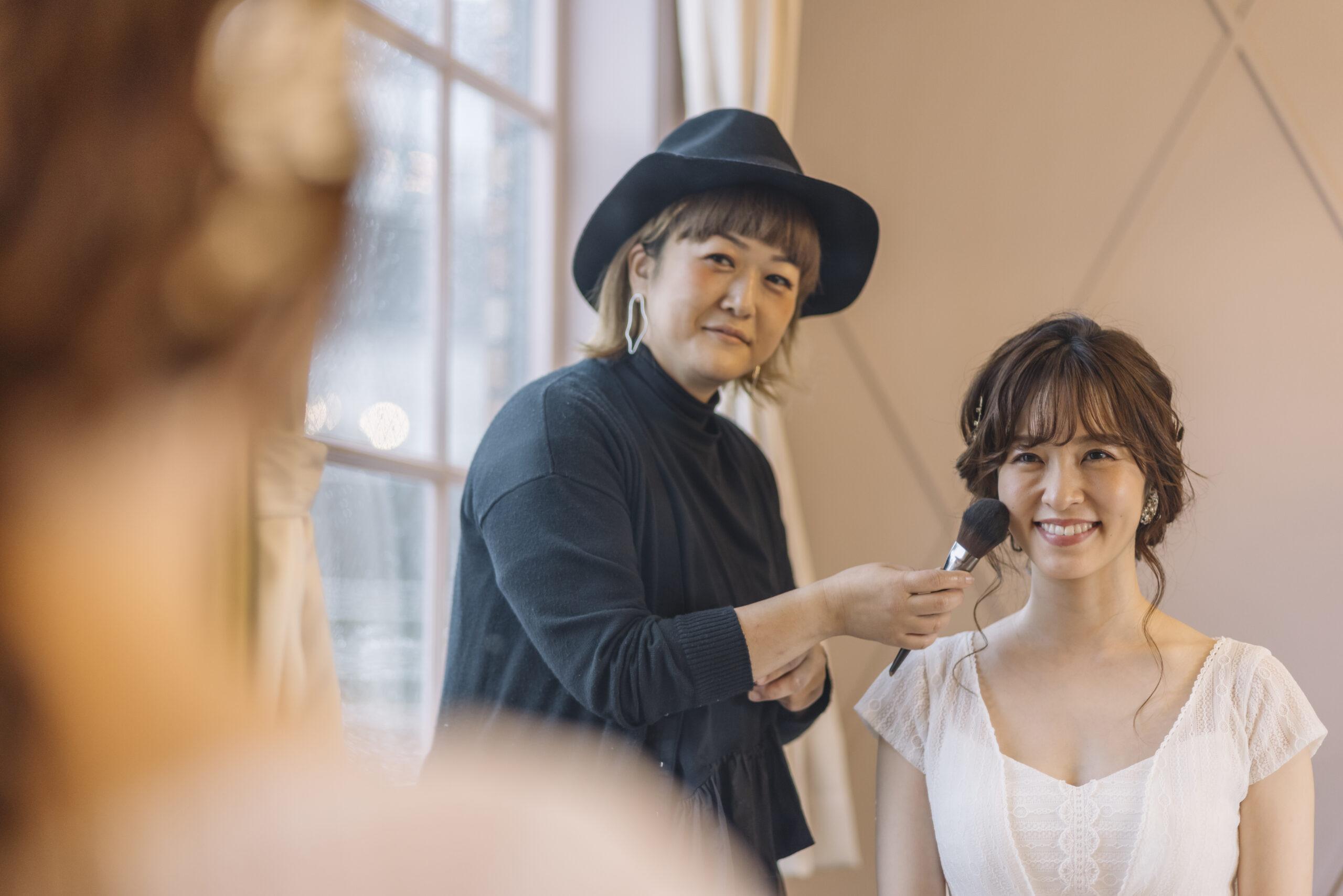 結婚式メイク