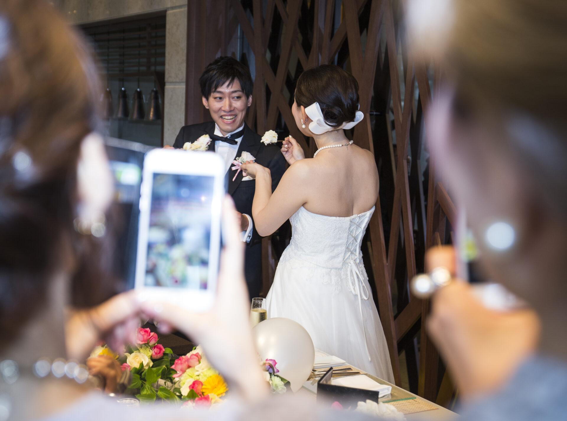 結婚式二次会_ファーストバイト
