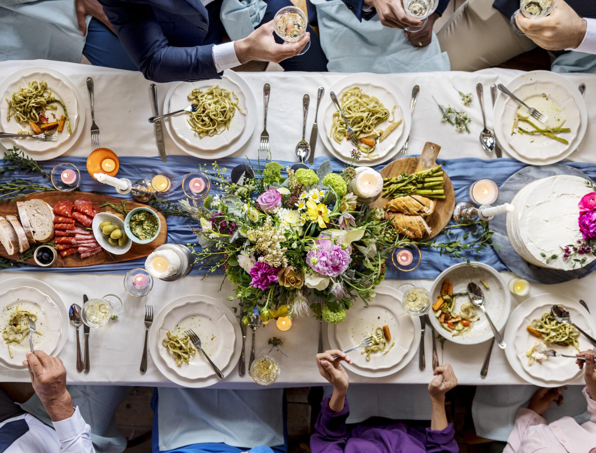 レストランウェディング_テーブル